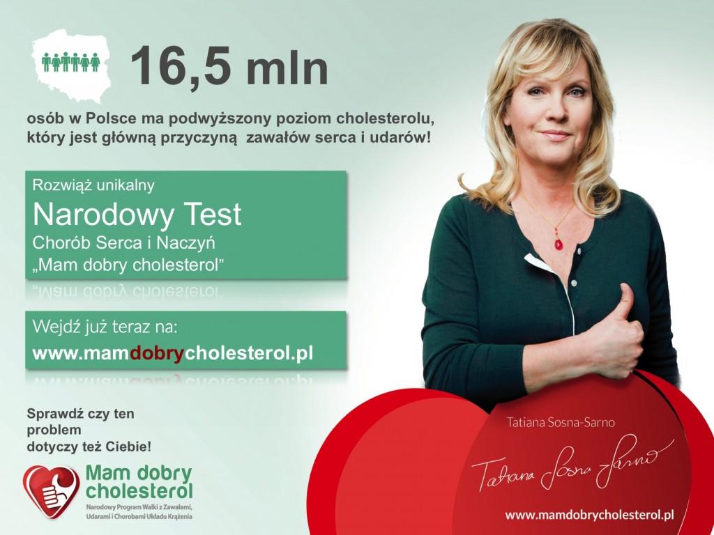 Narodowy Test_Mam dobry cholesterol