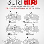 Sofa ABS – ćwiczenia na siedząco